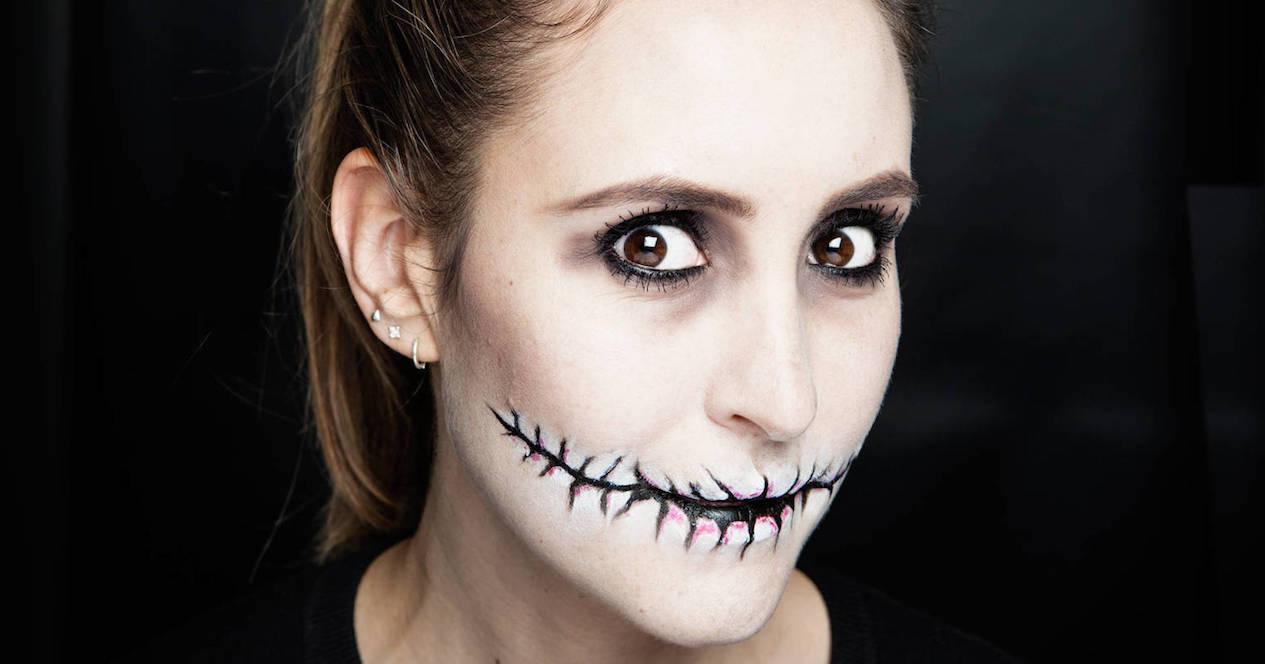 maquillaje haloowenn