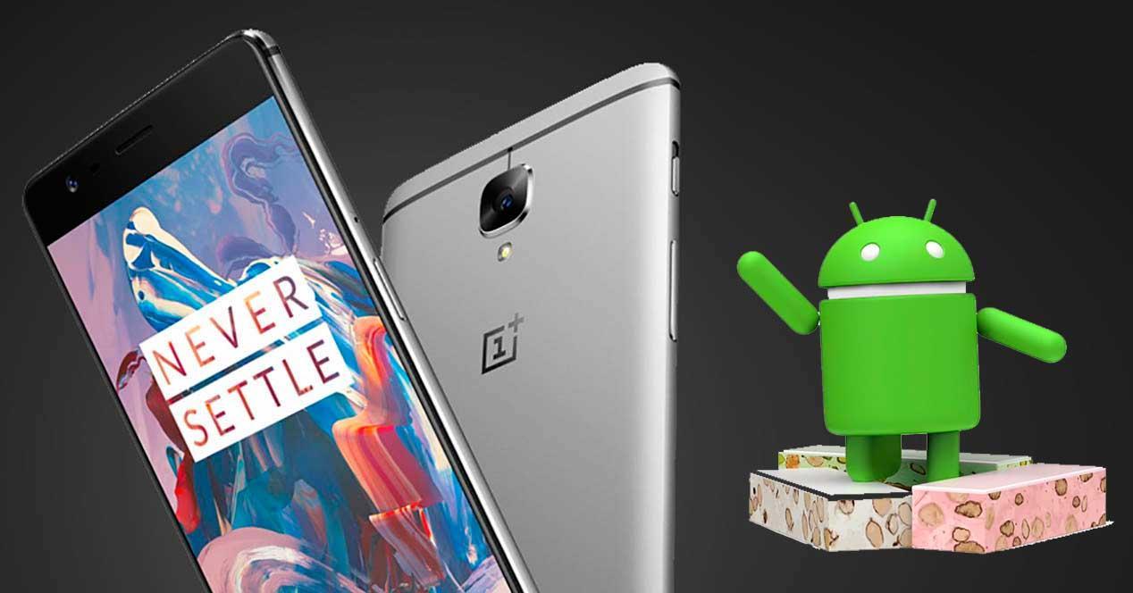 Android 7 Nougat para el OnePlus 3