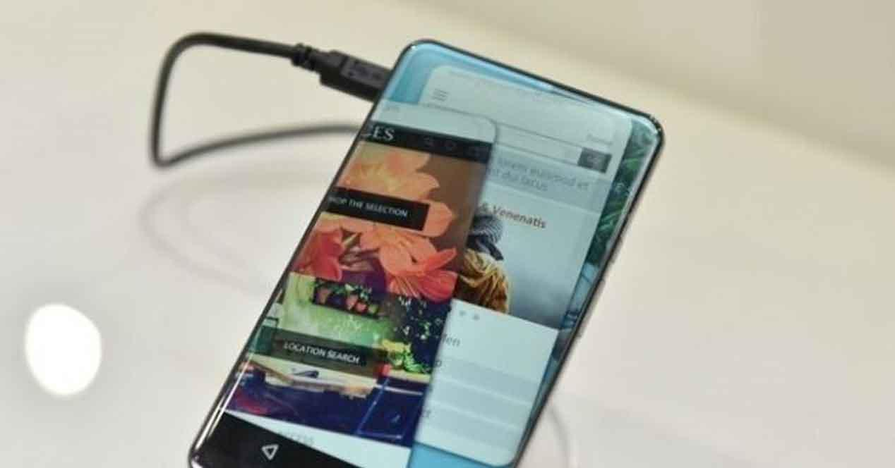 pantalla sin marcos iPhone 8