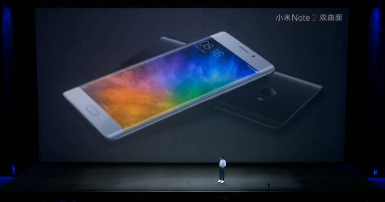 Xiaomi mi note 2 en dos colores