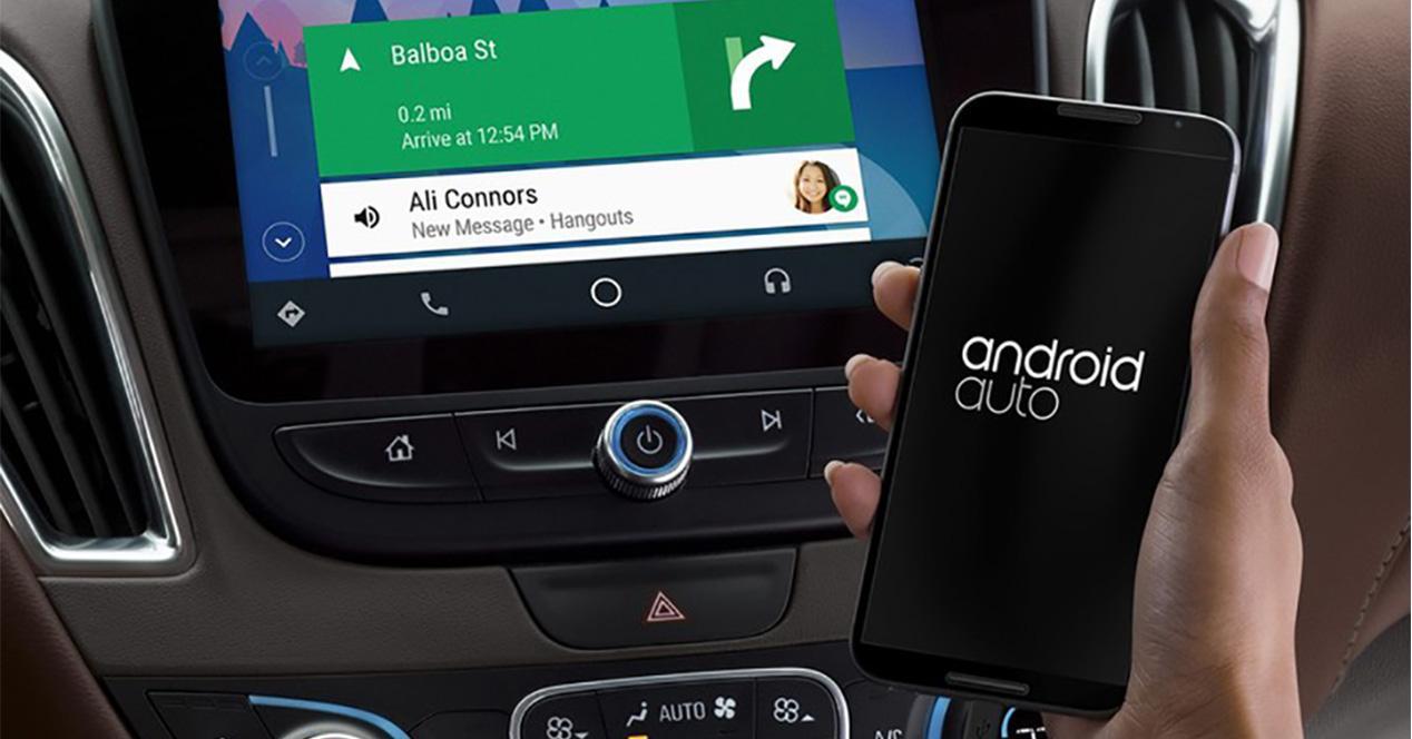 Aplicación de Android Auto