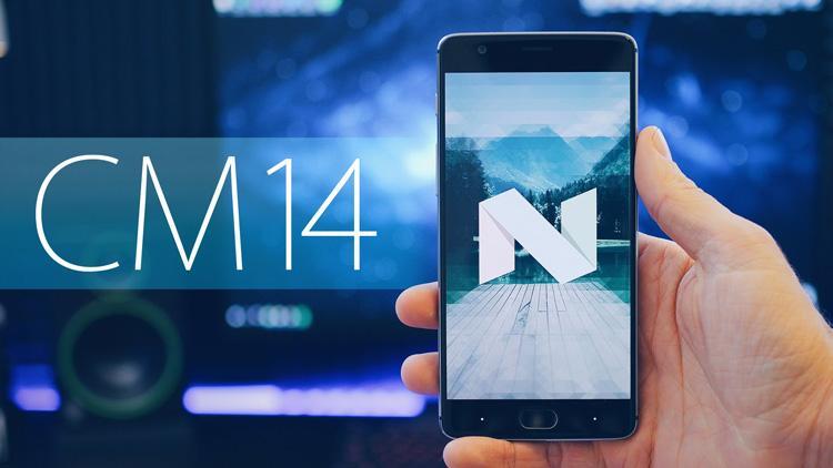 ROM CyanogenMod 14.1 en un OnePlus 3