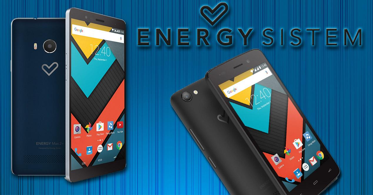Smartphones de Energy Sistem