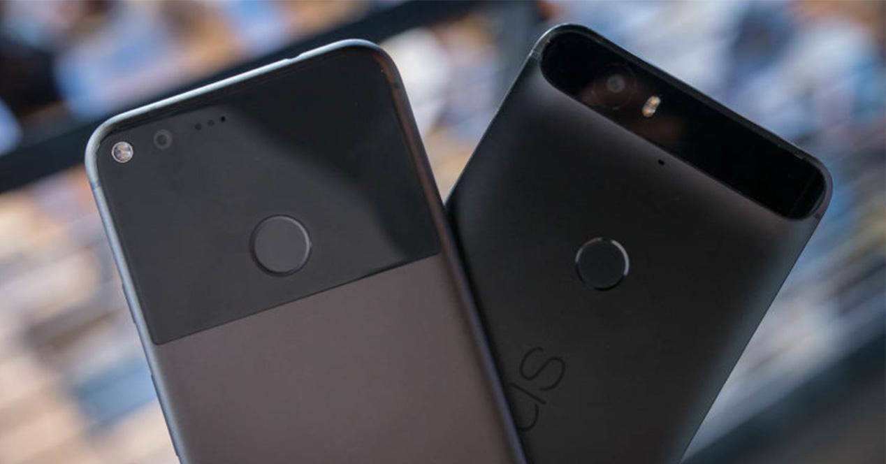 Google Pixel y Nexus 6P