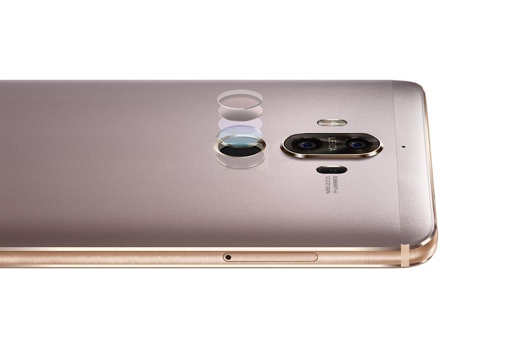 Huawei Mate 9 cámara y lector de hueyas
