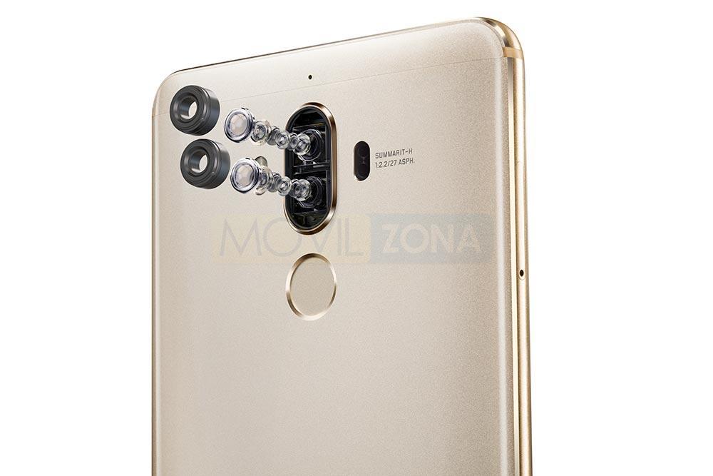 Huawei Mate 9 lente de doble cámara