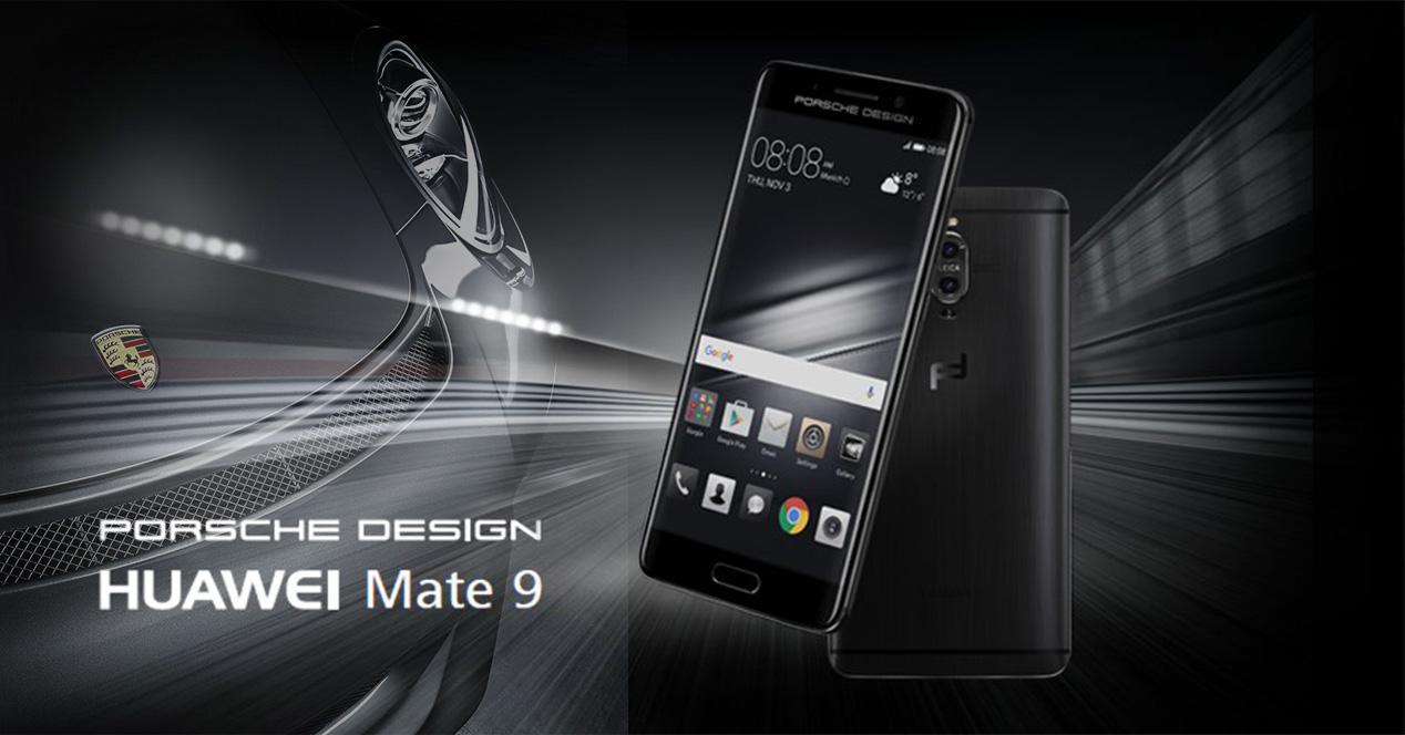 Diseño del phablet Huawei Mate 9 Porsche Design