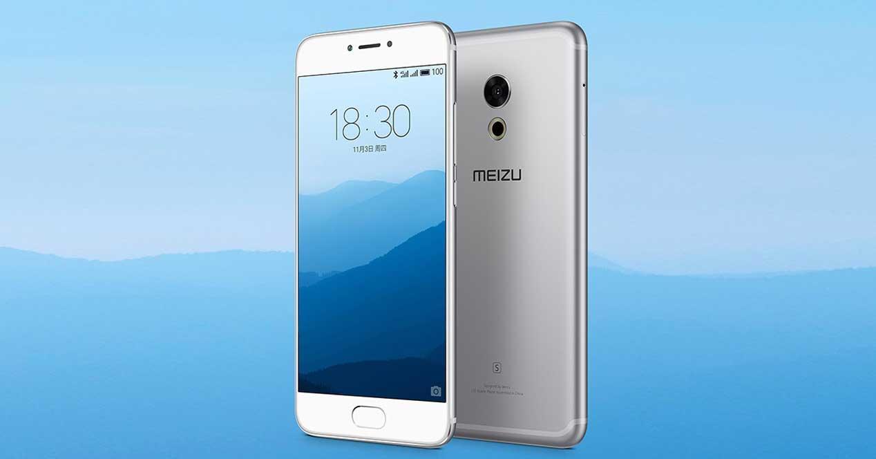 Meizu Pro 6s de color gris