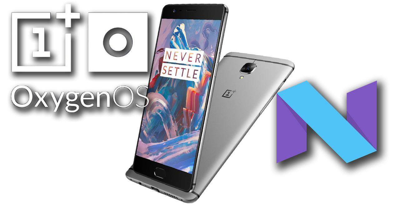 Actualización OTA para el OnePlus 3 con Android 7