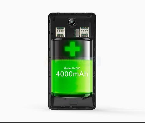 Oukitel K4000 Lite bateria