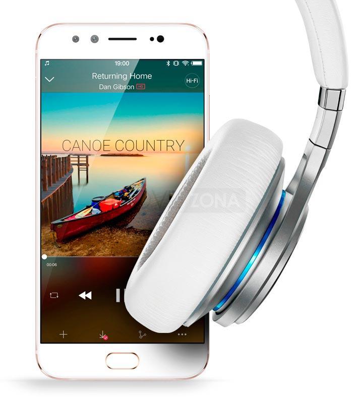 Vivo X9 blanco auriculares blancos
