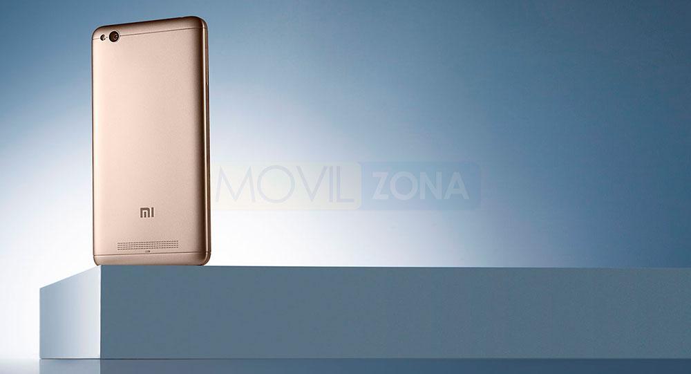 Xiaomi Redmi 4A dorado