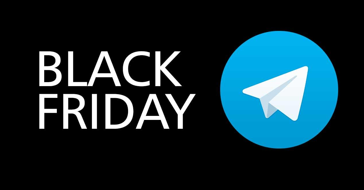 Black Friday en Telegram