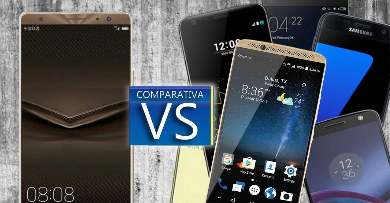 comparativa Huawei Mate 9