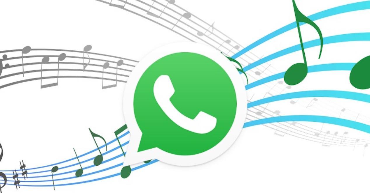 logo whatsapp y musica