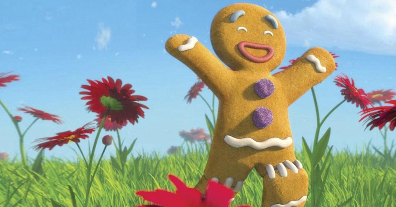 gingerbread shrek
