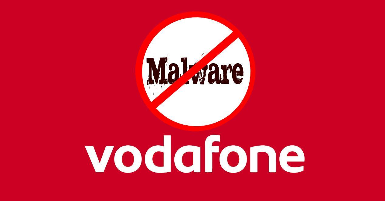 logo vodafone malware