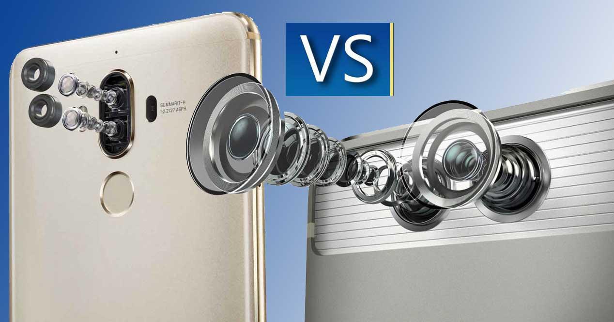 comparativa camara Huawei Mate 9 vs huawei p9