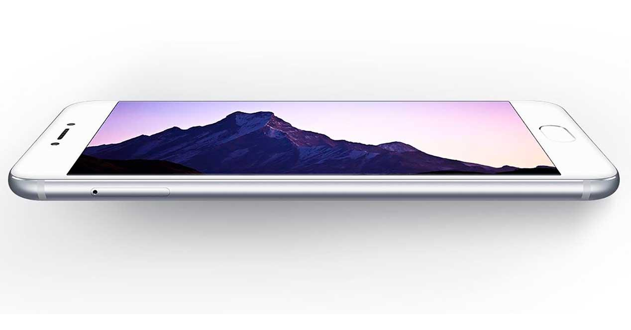 Meizu Pro 6 de color blanco