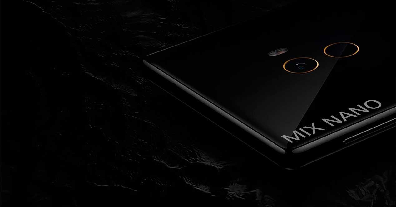 Xiaomi Mi MIx parte trasera