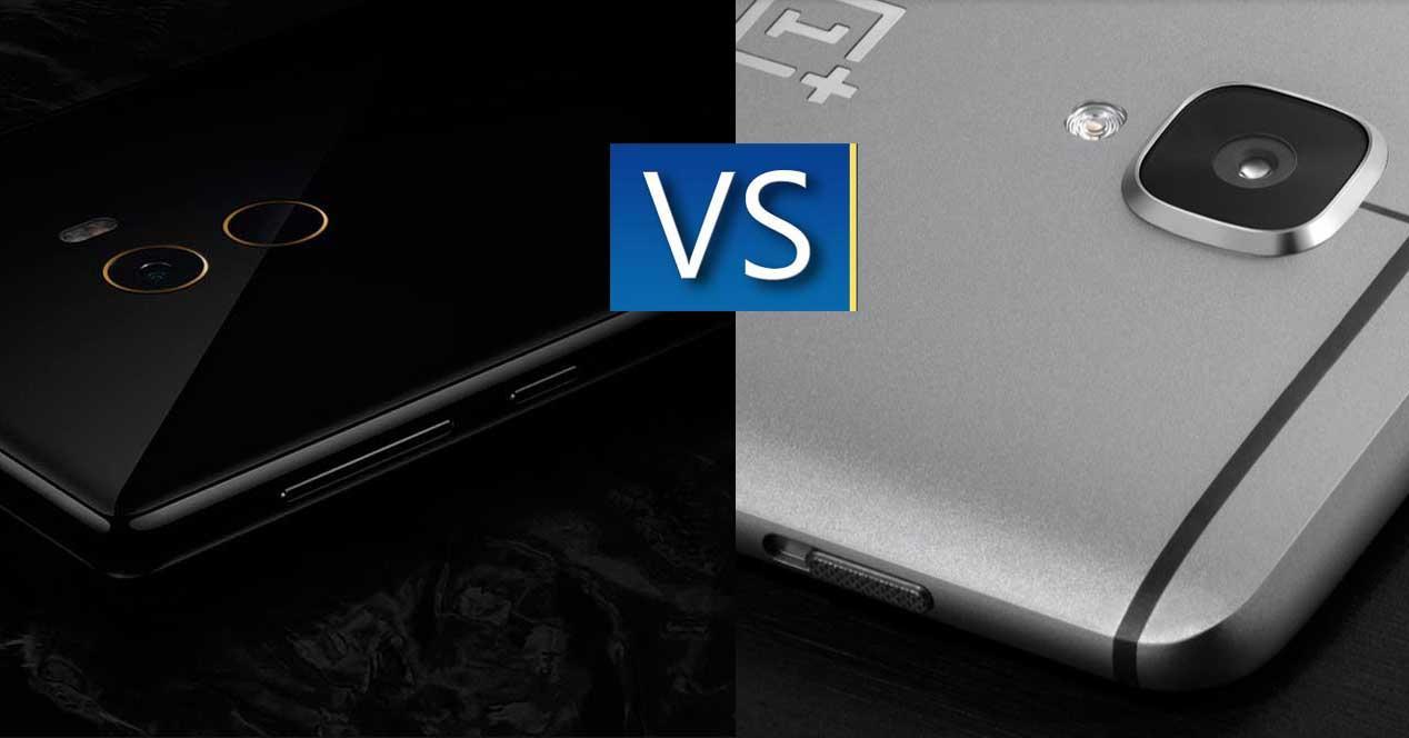 comparativa camara Xiaomi Mi Mix VS OnePlus 3