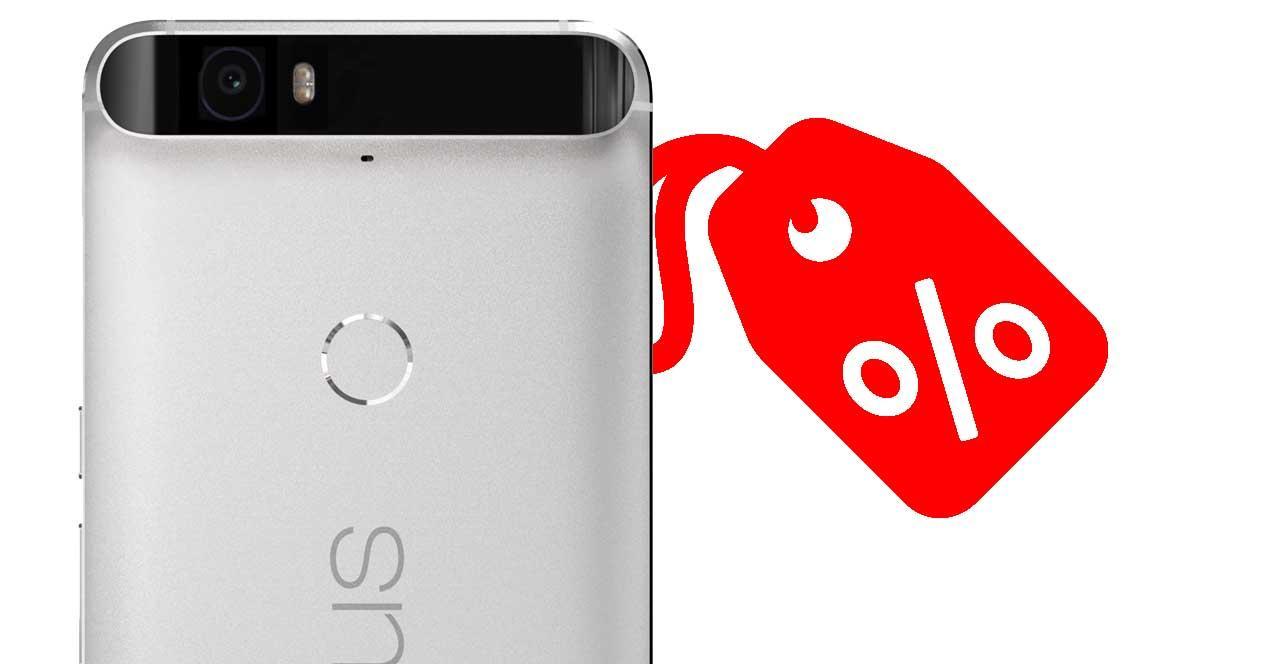 Nexus 6P decuento en Amazon