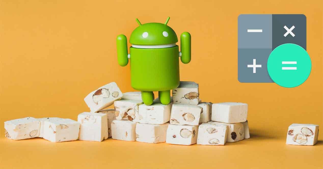 ajustes rápidos de Android Nougat