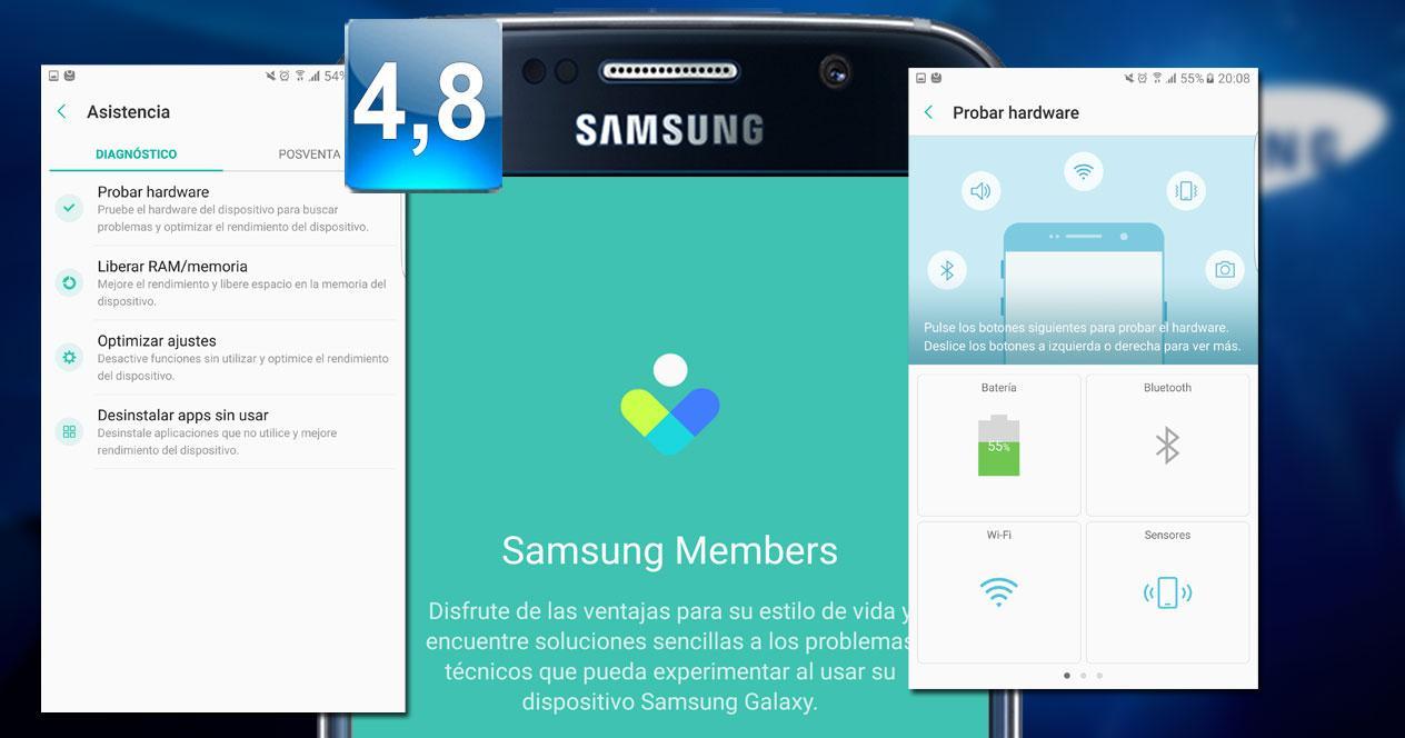 montaje Samsung Members