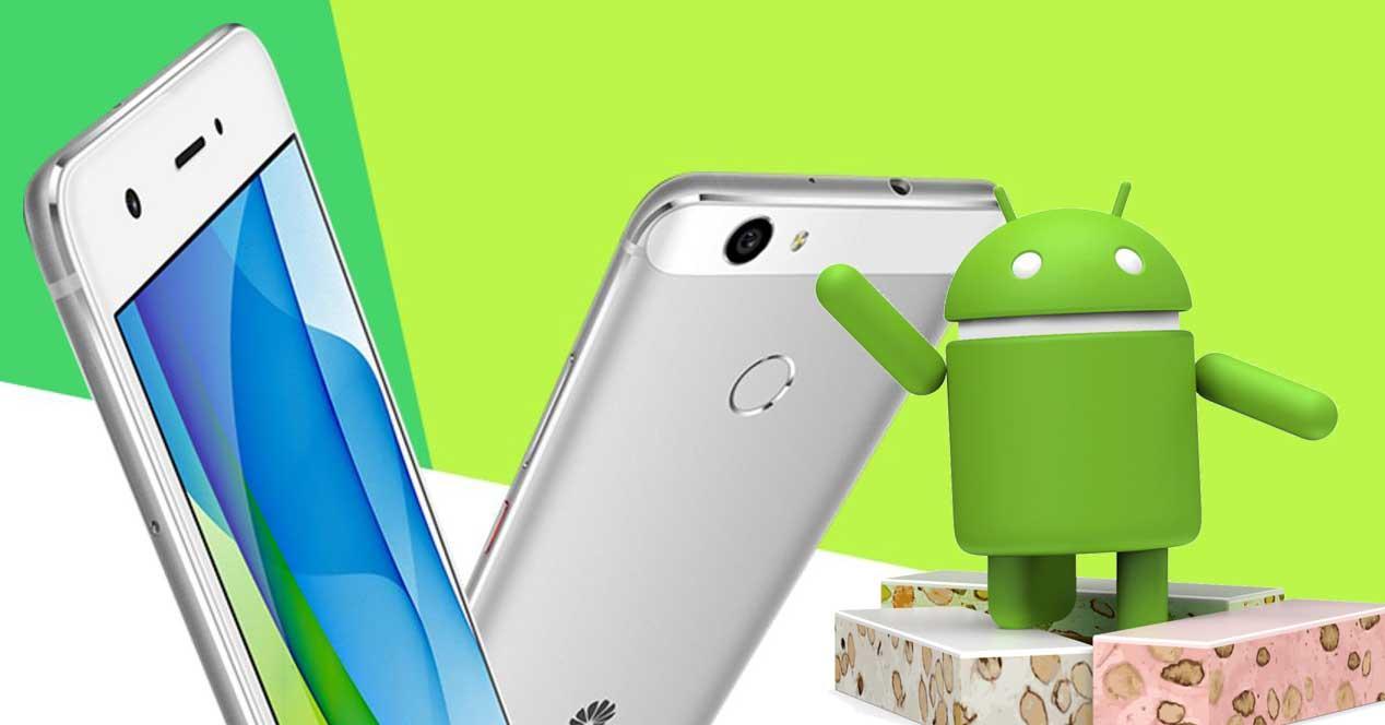 Huawei Nova Android Nougat
