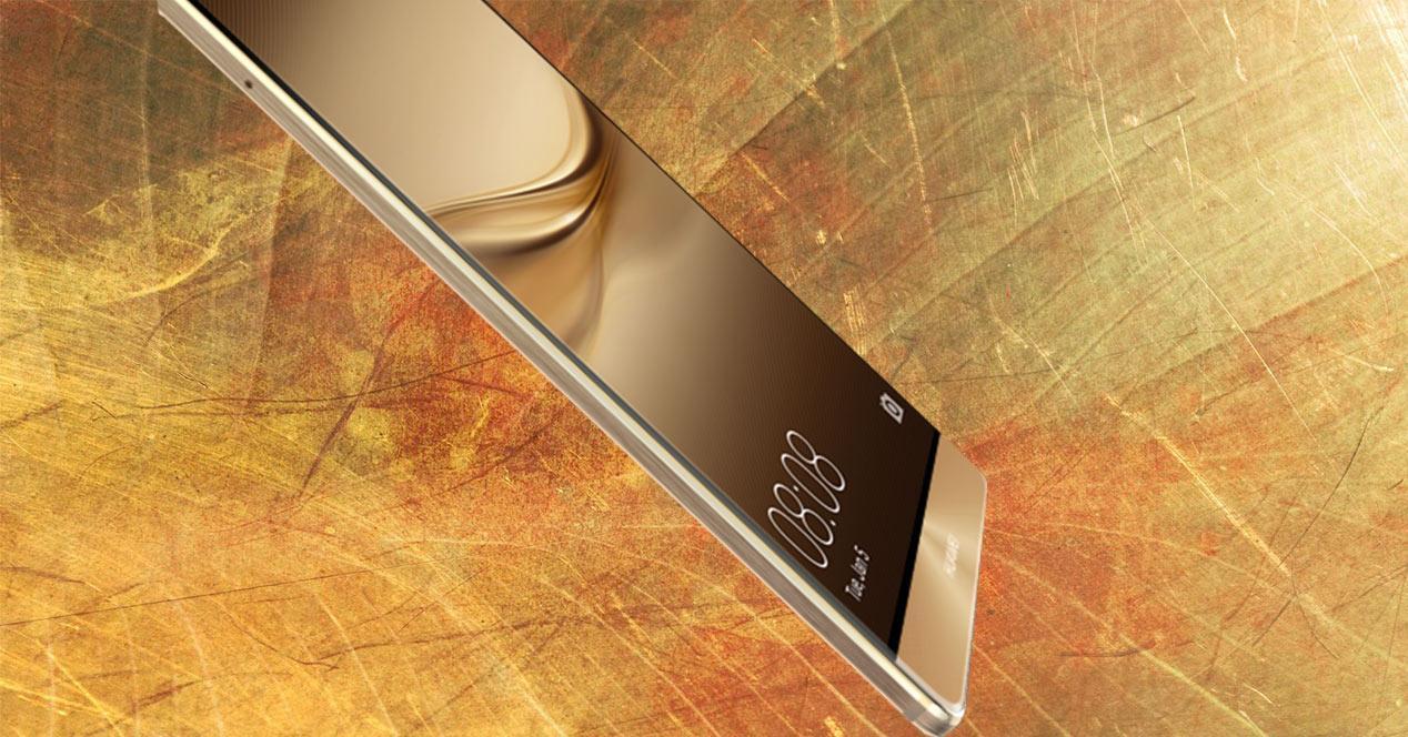 Huawei con marco de pantalla reducido