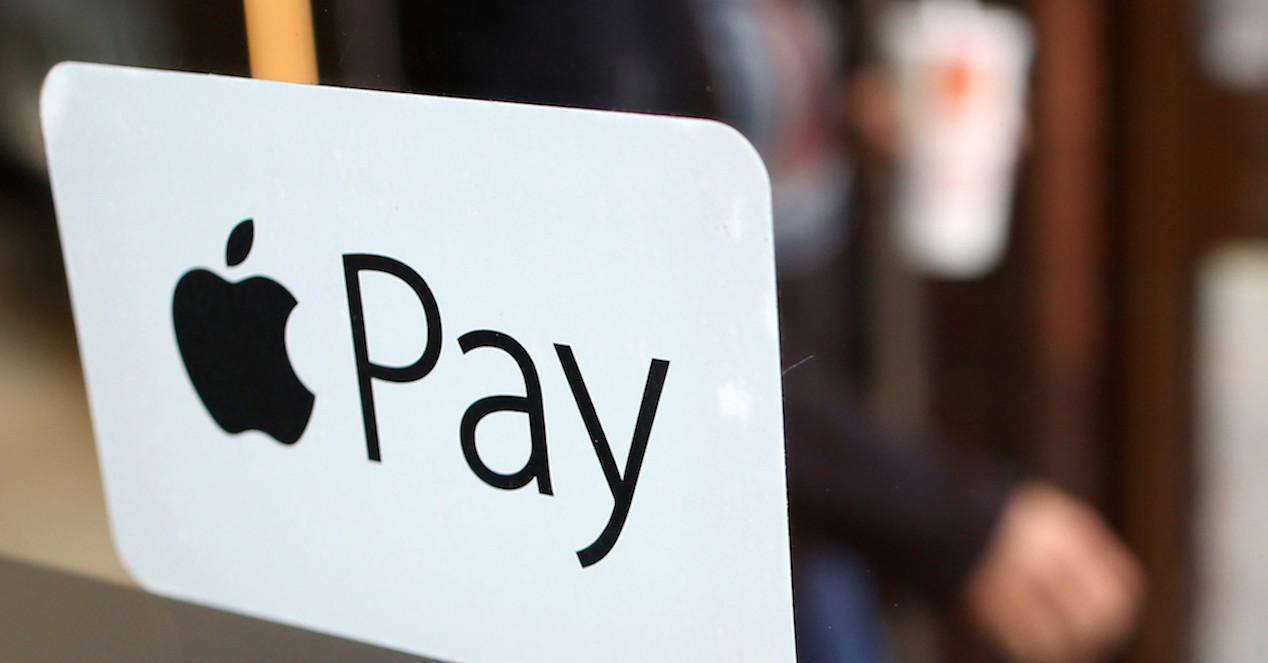 logo de apple pay en tienda