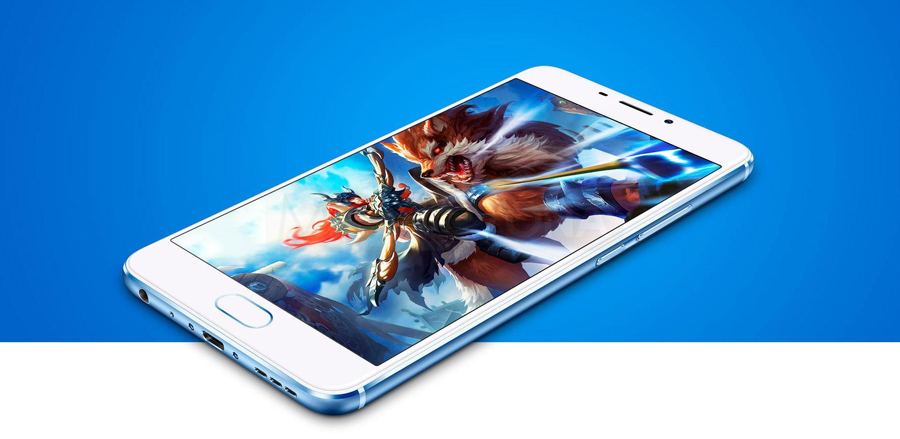 Meizu M5 Note con videjuego en pantalla