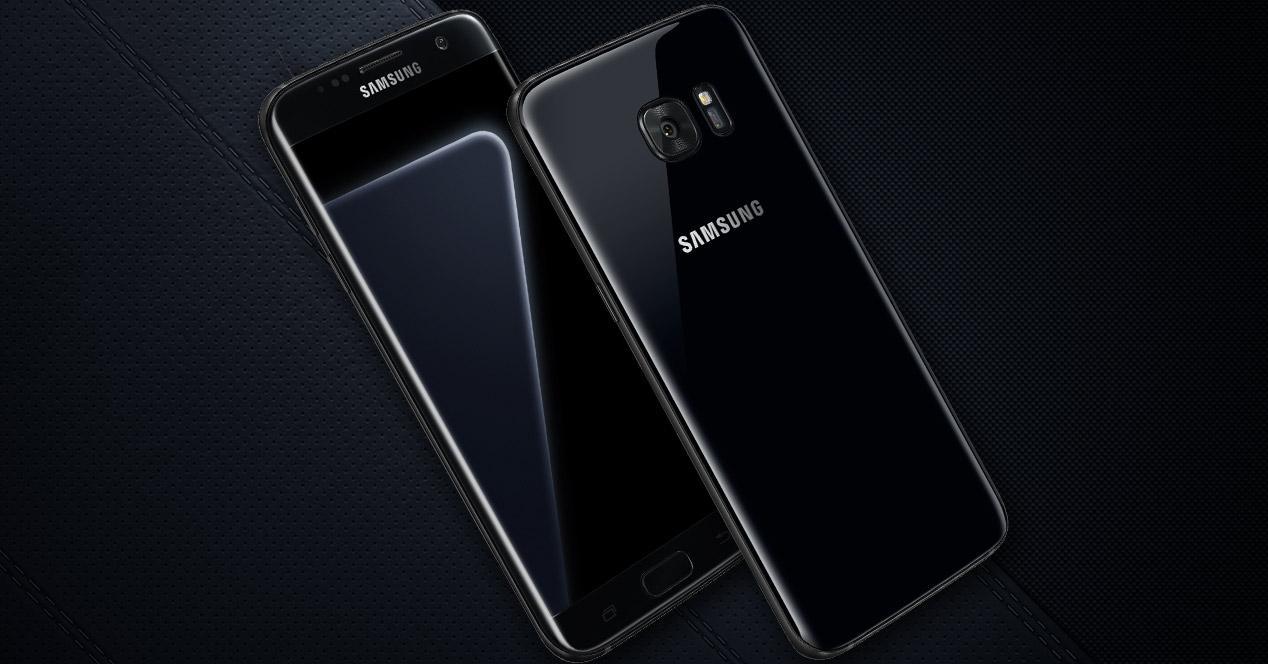 Diseño y aspecto del Samsung Galaxy S7 negro brillante