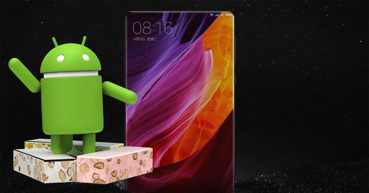 Android 7 en el Xiaomi Mi Mix