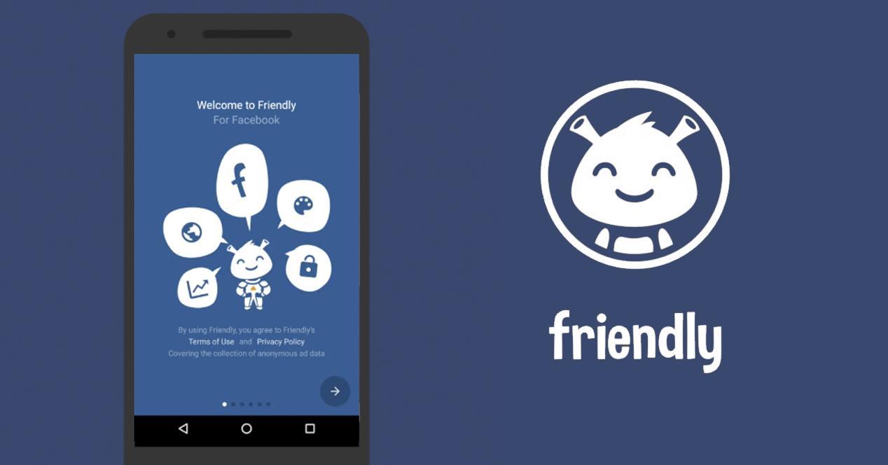 fiendly para facebook