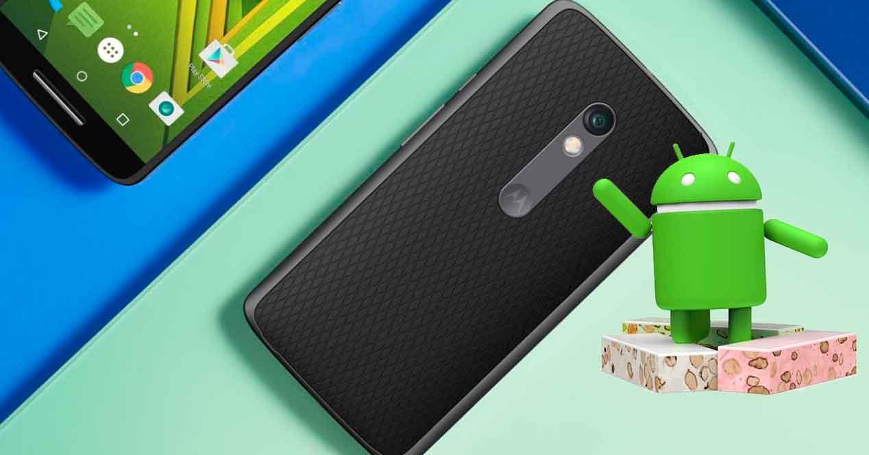 Android 7.1 para el Moto X Play