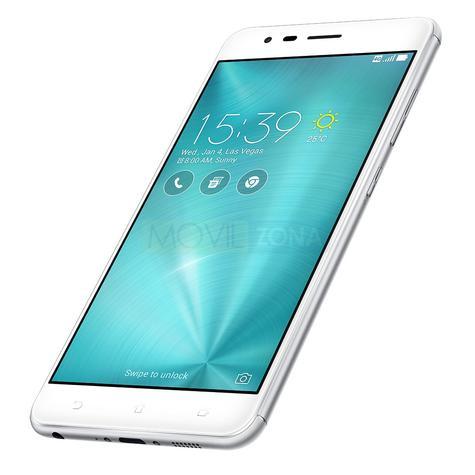 Asus Zenfone 3 Zoom de color blanco