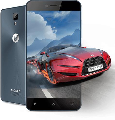 Gionee P7 videojuego con coche rojo