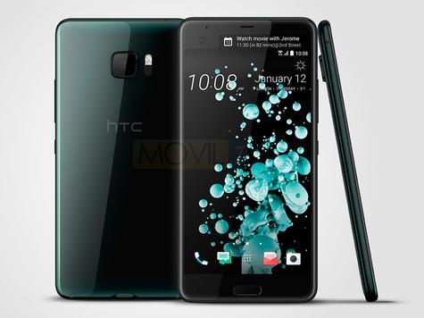 HTC U Ultra color verde