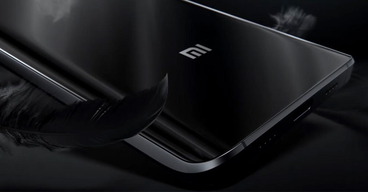 Smartphone Xiaomi con carcasa de color negro
