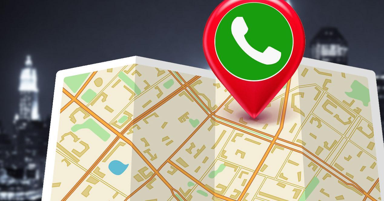 mapas whatsapp