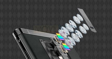 Gionee M2017 lentes de la cámara