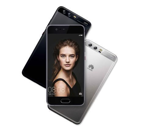Huawei P10 negro y plateado