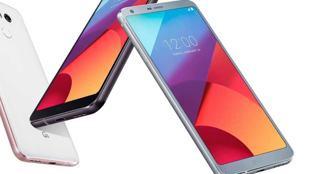 LG G6 en varios colores