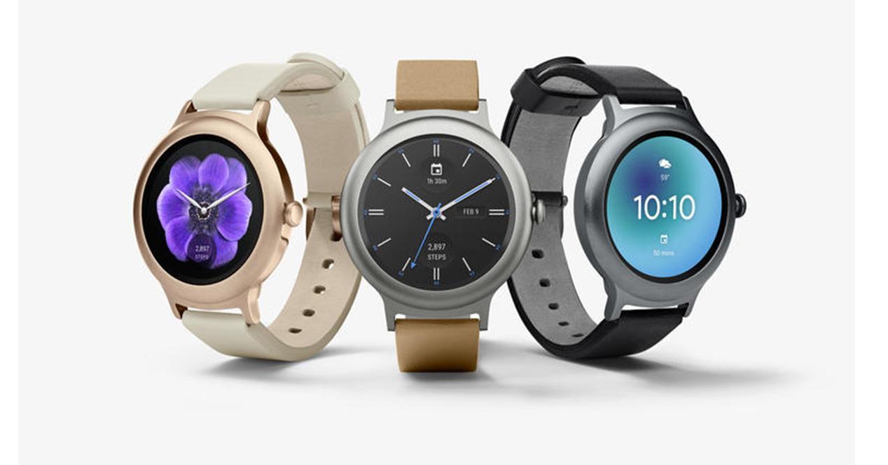 Relojes de LG con Android Wear 2.0