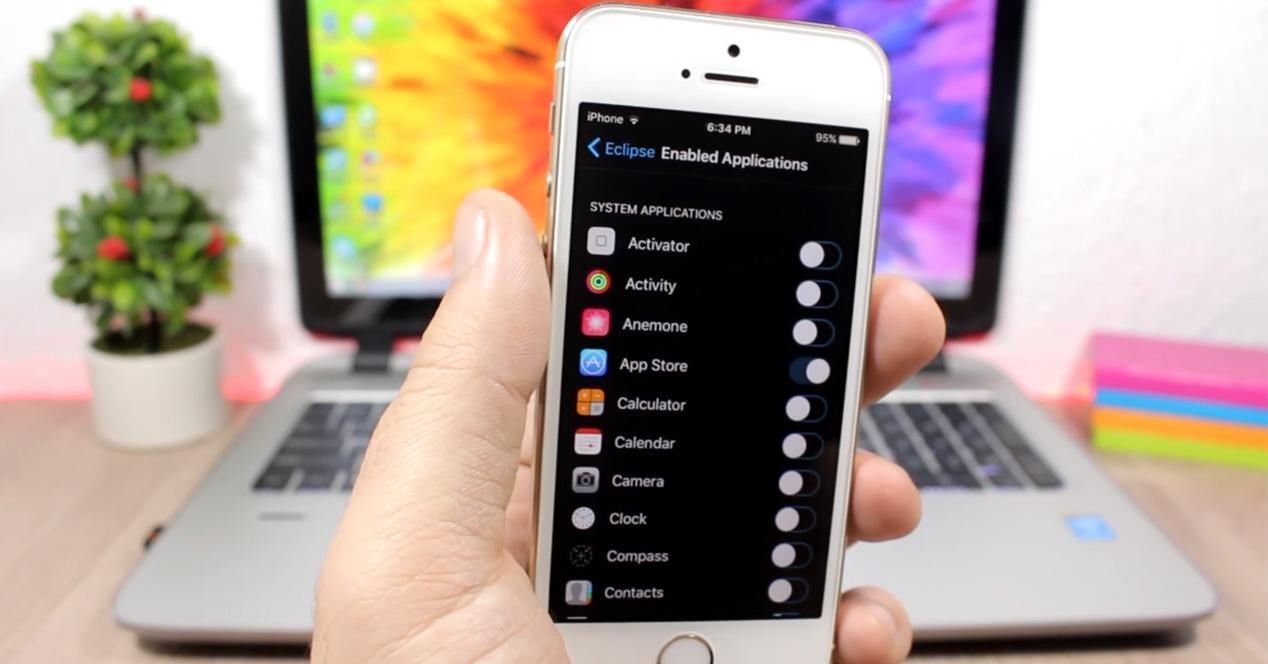 Modo noche en iPhone con iOS 10.2