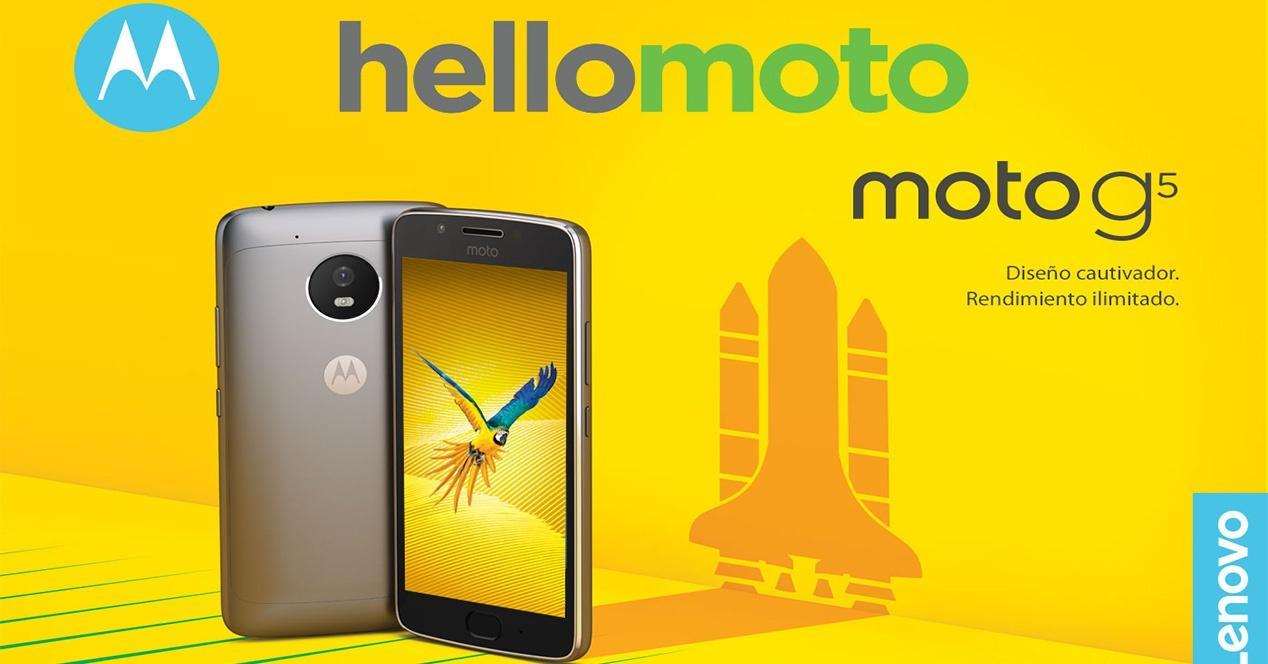 características del Moto G5