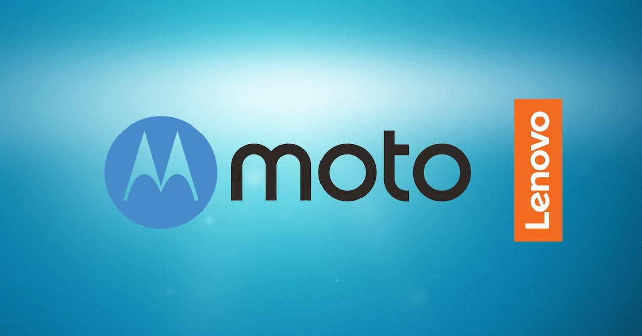 Logo Moto de Lenovo