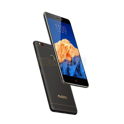 Nubia N1 Black con pantalla encendida