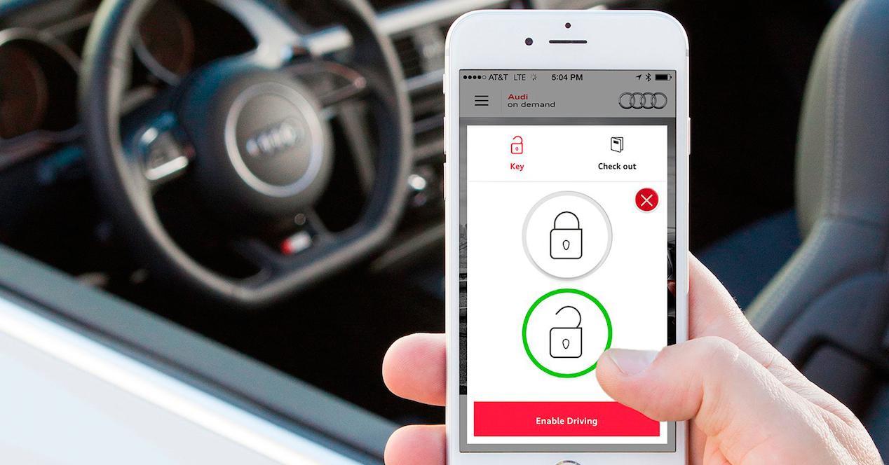 app desbloqueo coche